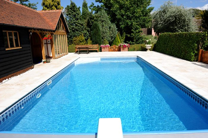 16′ x 32′ Panel and Liner Cascade Pool Installation