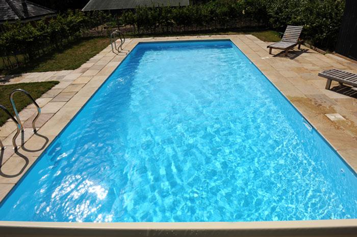 16 X 32 Traditional Rectangular Panel Amp Liner Pool