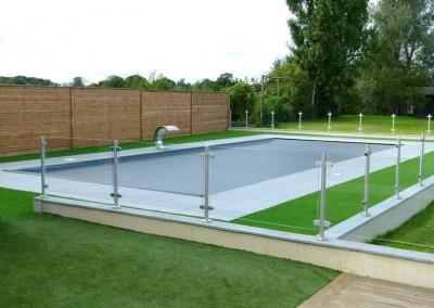 Cascade Pool installation