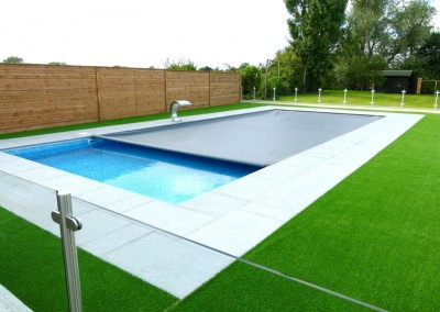 Swimming Pool with Cover Suffolk